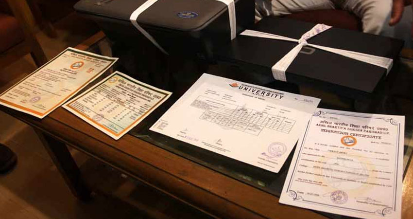 The Latest Technology Makes The Fake Certificates Real With Low Price