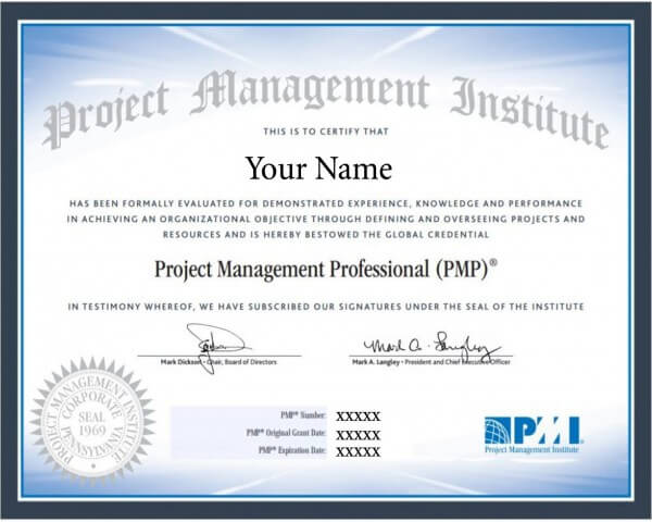 Buy Pmp Certificate Online Pmp Certificate Without Exam Pmp Certif
