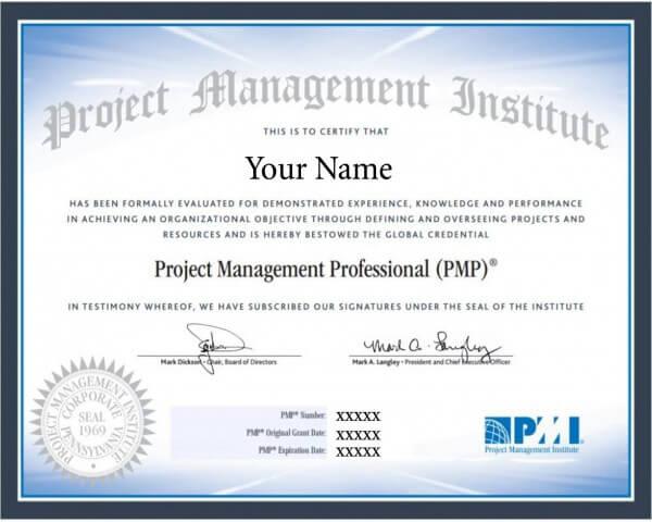 Buy PMP Certificate Online
